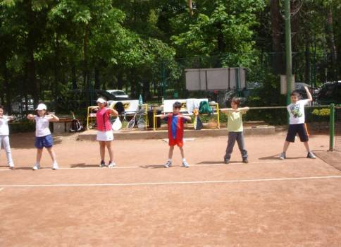 Enache International Tennis Academy  Teren 1